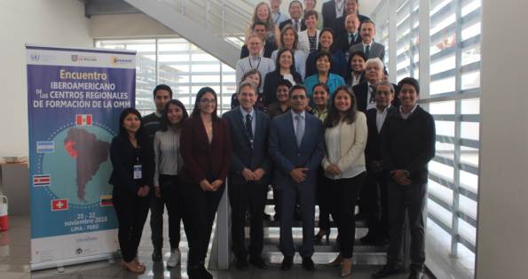 Strengthening collaboration of Iberio-American WMO Regional Training Centers