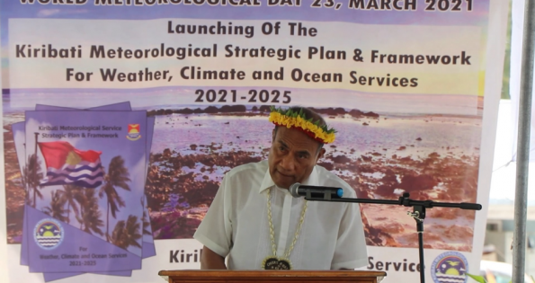 Kiribati Framework for Weather, Climate and Ocean Services