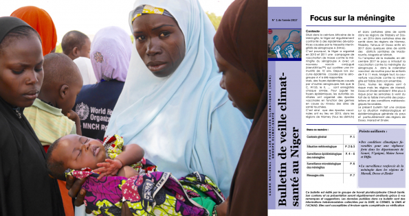 Niger Climate Health Bulletin