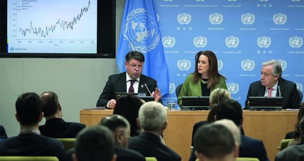 WMO Statement on the State of the Global Climate 2018