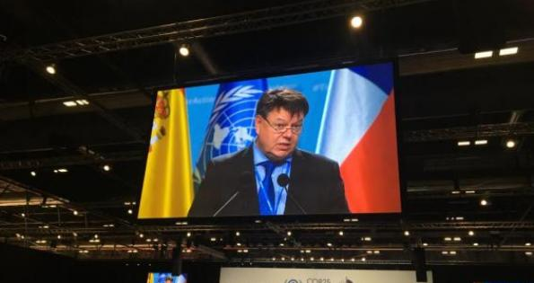 WMO addresses high-level segment of COP25