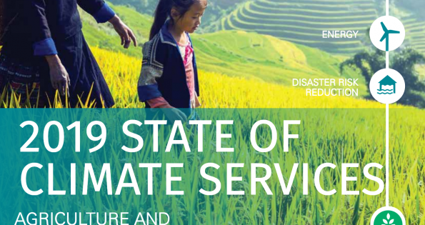 State of Climate Services report