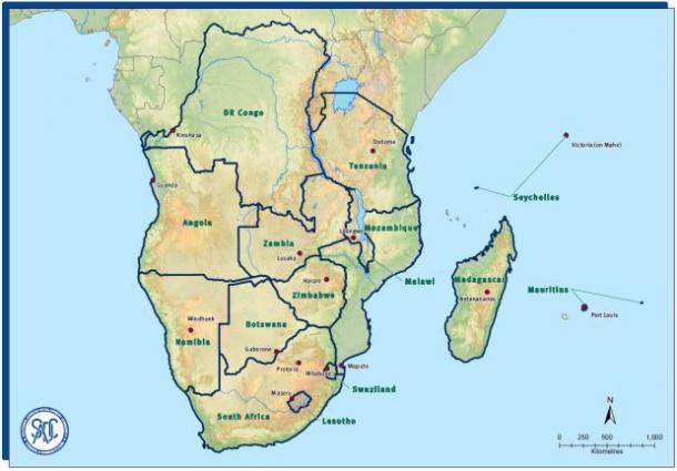 FOCUS Africa map