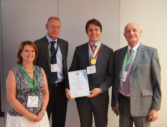 HMEI Award Winner Dr Denis Kiselev