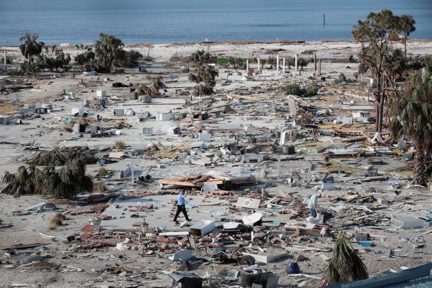 Getty image - Hurricane Michael