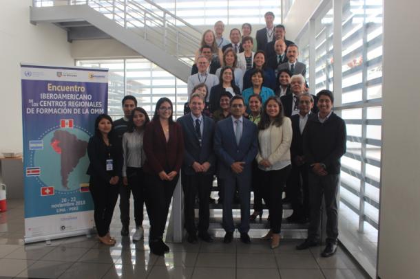 Strengthening collaboration of Iberio-American WMO Regional Training Centers