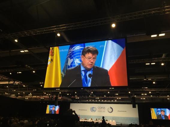 WMO addresses high-level segment of COP25
