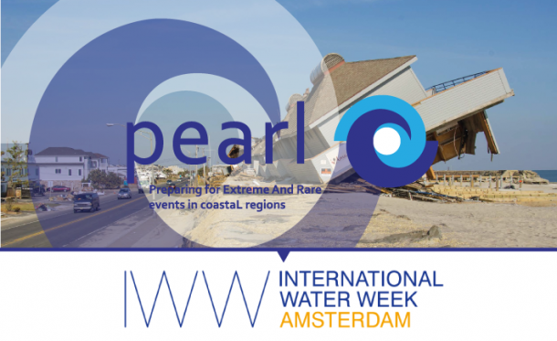 Preparing for Extreme and Rare Events in Coastal Regions (PEARL) Project at Amsterdam International Water Week