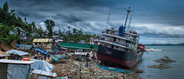 Ocean devastation - Photo by Claudio Accheri