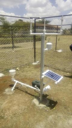 The first 3D printed weather station manufactured, assembled and installed at a school in Nairobi