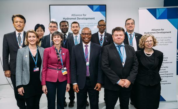 Alliance for Hydromet Development launched | World Meteorological Organization