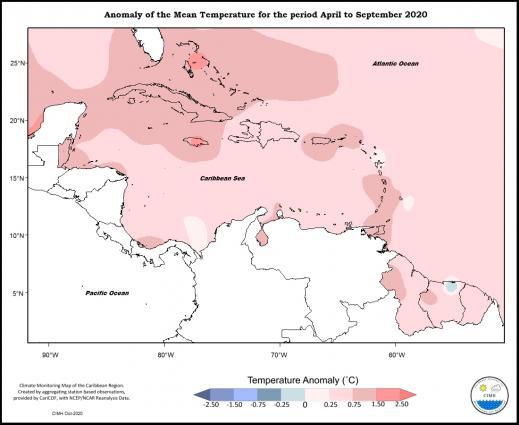 Caribbean has record-breakng heat season