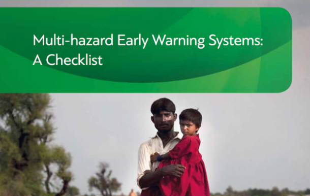 Multi-Hazard Early Warning Systems Checklist 2018