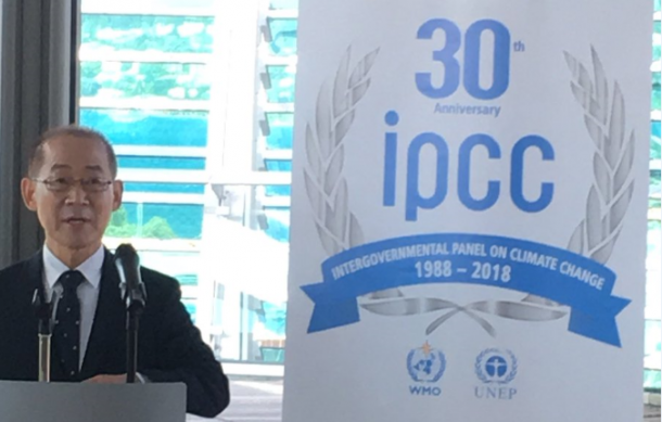 IPCC Chair Hoesung Lee
