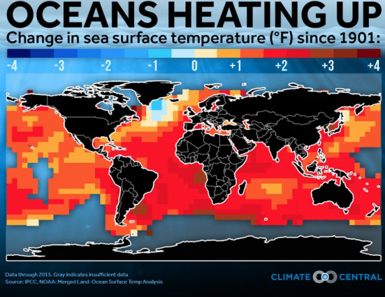 Oceans heating up - Climate Central