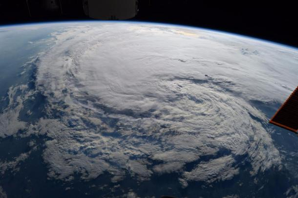 Tropical cyclone Harvey. Photo: NASA