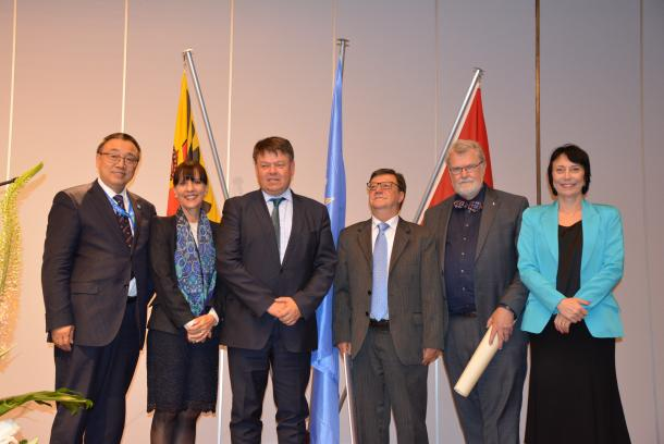 Divino Moura of Brazil receives IMO prize, WMO's top honour