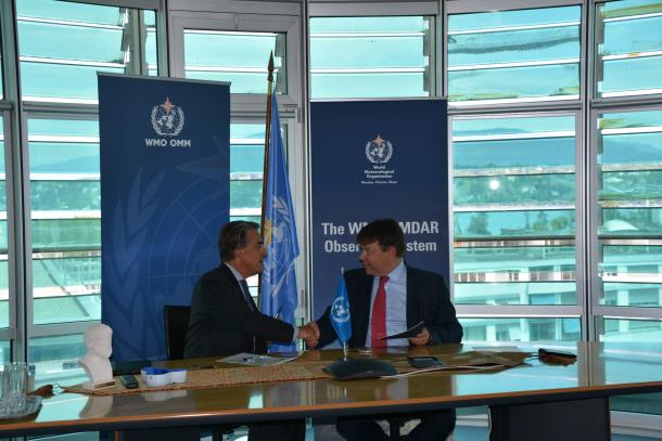WMO works with air transport industry on data gathering