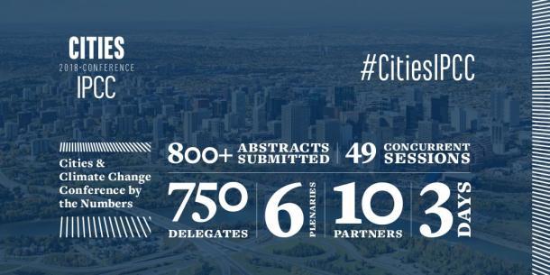 CitiesIPCC conference, Edmonton, Canada 5-8 May 2018