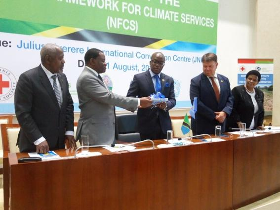Tanzania climate services launch