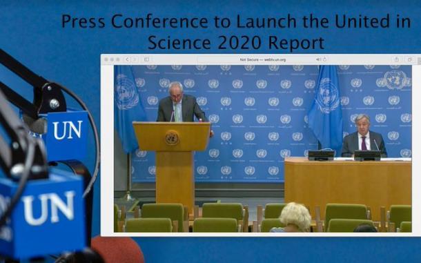 UN Secretary-General launches United in Science report