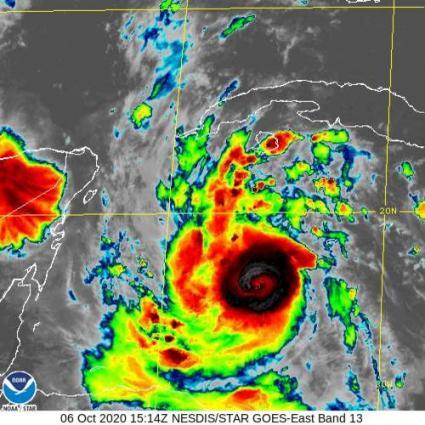Hurricane Delta 6.10.2020
