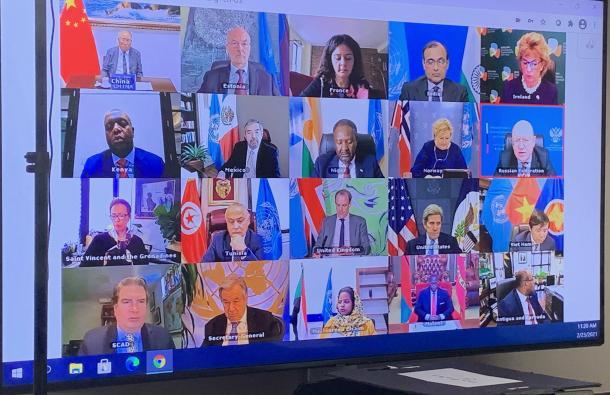 UN Security Council on climate change