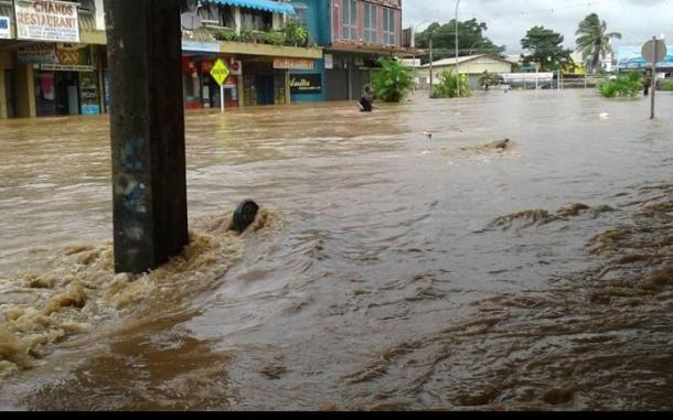 Photo Tropical Cyclone Josie causes major flooding in Fiji's Ba Photo: Fiji Village