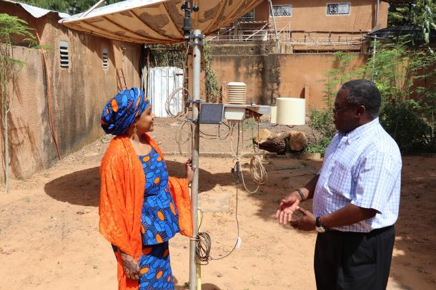 Niger making progress towards a flood early warning system
