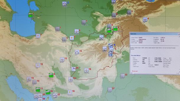 Afghan Meteorological Dept Rejoins Global Telecoms System