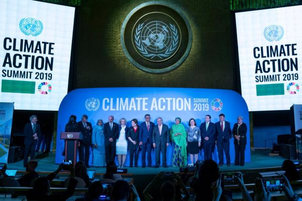 UN Climate Action summit 23.9.2019