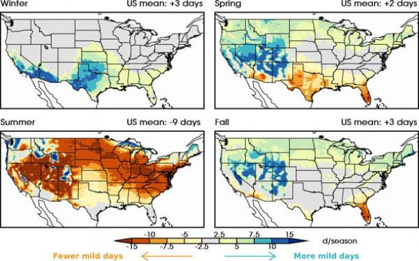 Climate Change To Shift Global Pattern Of Mild Weather World Delectable Weather Pattern