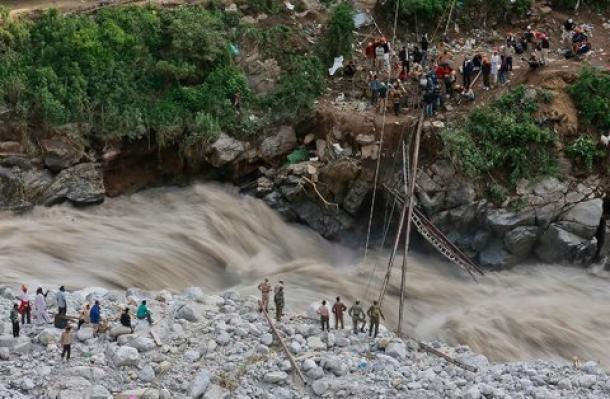 Floods hit Asia