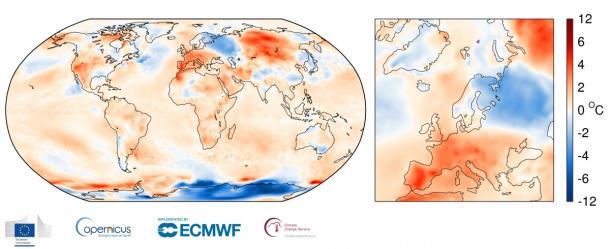 June 2017 2nd hottest on record: ECMWF Copernicus Climate Change Service