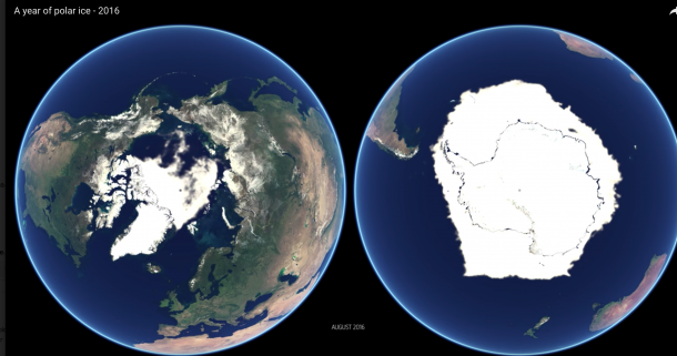 EUMETSAT: A year in polar ice