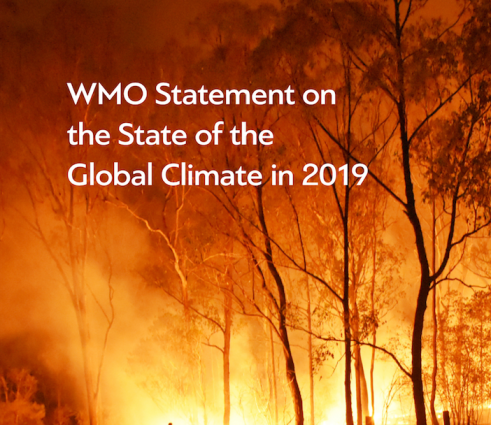 WMO Statement on the State of the Global Climate 2019