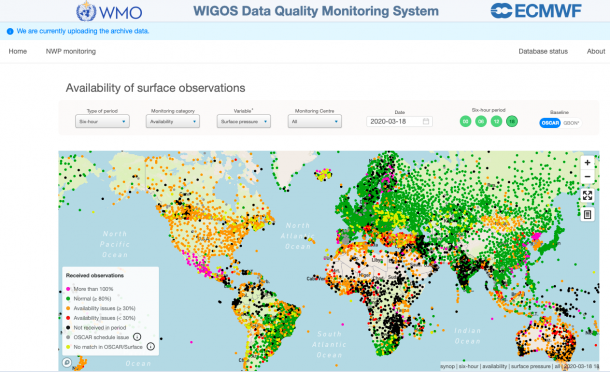 WIGOS Data Quality Monitoring System