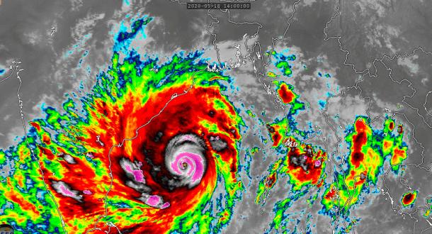 Super cyclonic storm Amphan