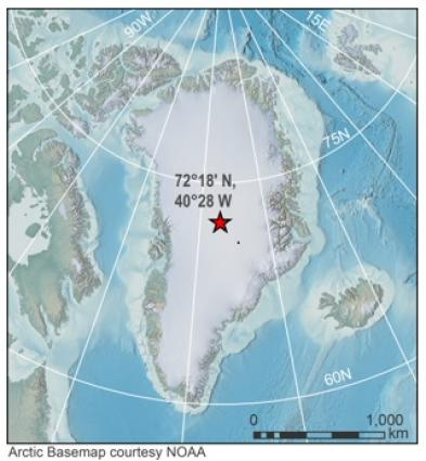 Arctic Basemap courtesy NOAA