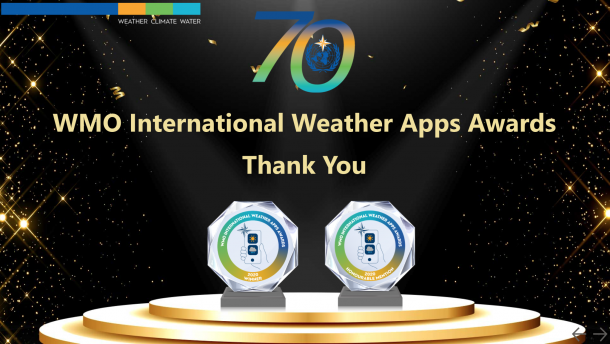 winners of Weather Apps Awards