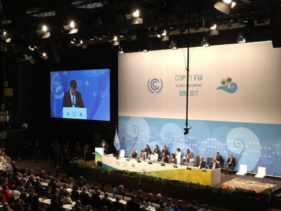 WMO SG Taalas addresses opening of COP23