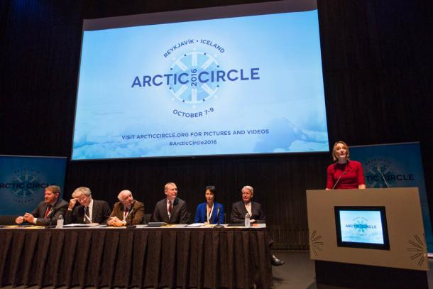 Innovation and cooperation for a safer Arctic: WMO breakout session at Arctic Circle Meeting