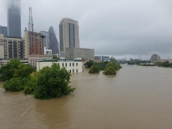 Flooding from Hurricane Harvey, Photo: Tom Fitzpatrick, Fugro