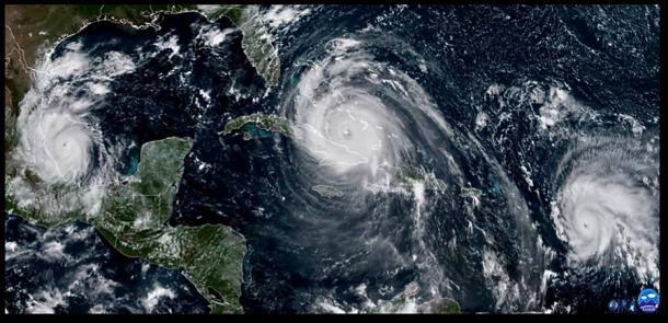 Hurricanes April 2018