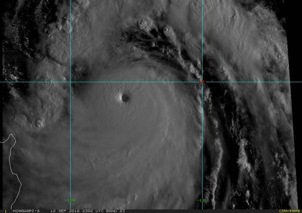 Typhoon Meranti, strongest tropical cyclone in 2016