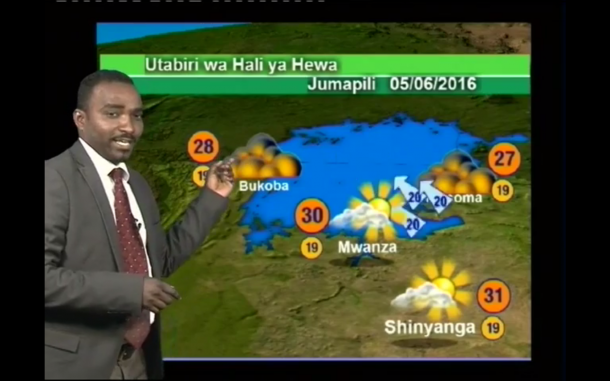 Improving dissemination of weather forecasts and warnings through radio and television