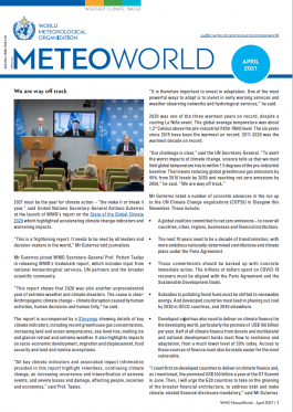 MeteoWorld No.1/April 2021