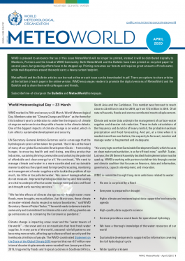 MeteoWorld No.1 April 2020