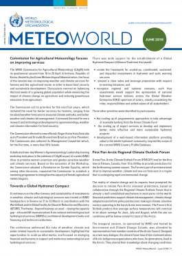 MeteoWorld June 2018 Cover
