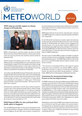 Online MeteoWorld No.3/September 2018